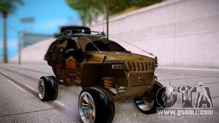 Jeep Grand Cheroke Off Road LPcars for GTA San Andreas