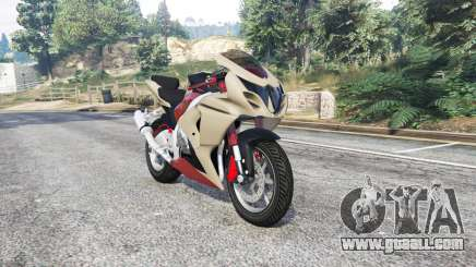 Suzuki GSX-R1000 v1.01 [replace] for GTA 5