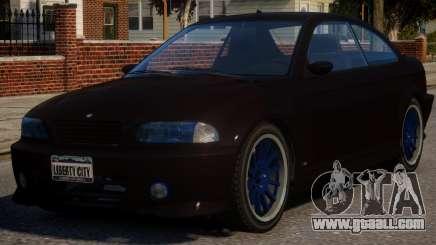 BMW M3 Xenon for GTA 4