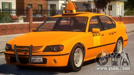 Taxi Vapid New York City for GTA 4