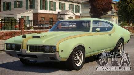 1969 Oldsmobile Cutlass Hurst 442 for GTA 4