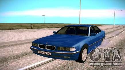 BMW M5 E38 for GTA San Andreas