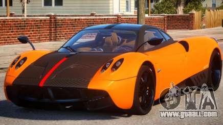 2011 Pagani Huayra Cinque for GTA 4