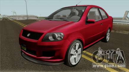 Declasse Asea Coupe GTA V for GTA San Andreas