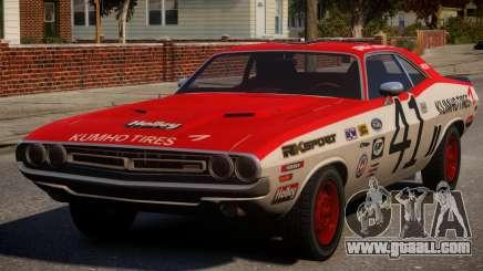 Dodge Challenger 1971 PJ3 for GTA 4