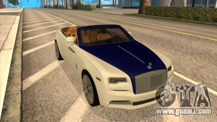 Rolls-Royce Dawn for GTA San Andreas