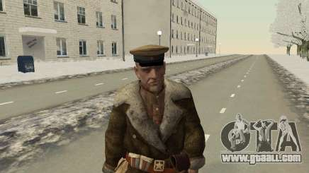 The red army in the Winter Form for GTA San Andreas