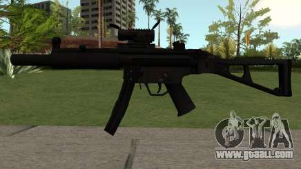 MP5-A1 for GTA San Andreas