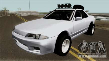 Nissan Skyline R32 Rusty Rebel for GTA San Andreas