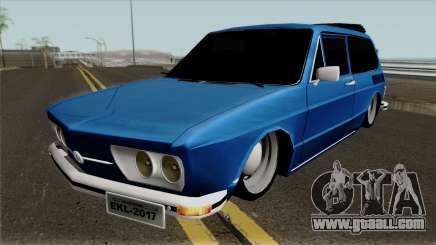 Volkswagen Brasilia Brasilhao for GTA San Andreas