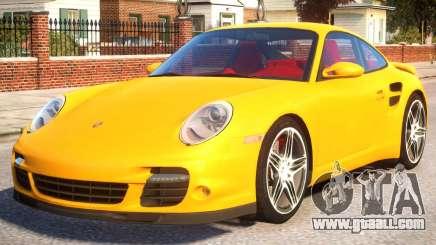 Porsche 911 (997) Turbo EPM for GTA 4