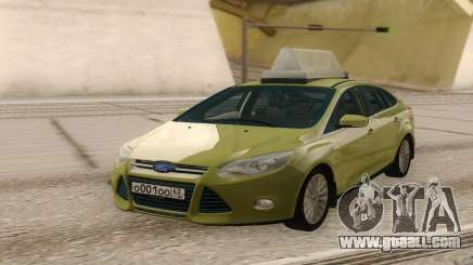 Ford Focus Taxi for GTA San Andreas