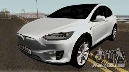 Tesla Model X for GTA San Andreas