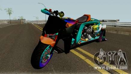 Far Concept Hyperbike Engine Ford v8 for GTA San Andreas