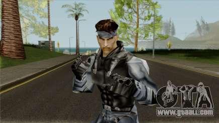 Snake - Metal Gear for GTA San Andreas