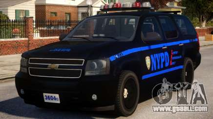 NYPD Police Tahoe [ELS] for GTA 4