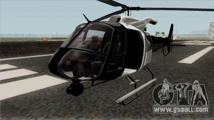 Buckingham Police Maverick GTA V for GTA San Andreas