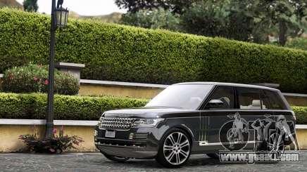 Range Rover SVA for GTA 5