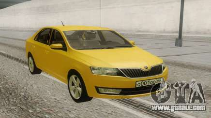 Skoda Octavia A7 2015 for GTA San Andreas