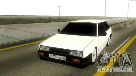 VAZ 2108 Rus Plate for GTA San Andreas
