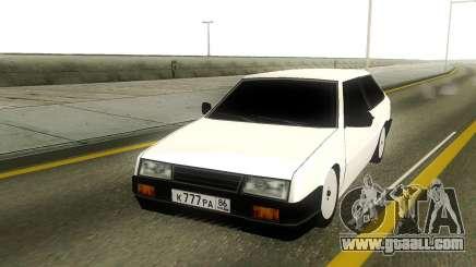 VAZ 2108 Rus Plate for GTA San Andreas