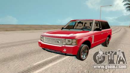 Land Rover Range Rover Tuning for GTA San Andreas