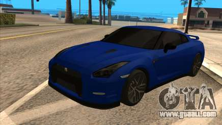 Nissan GT-R 35 for GTA San Andreas