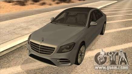 Mercedes-Benz S560 for GTA San Andreas