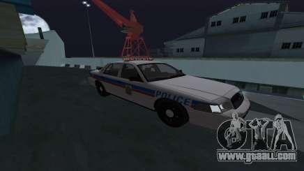 Saskatoon Ford Crown Victoria Interceptor for GTA San Andreas
