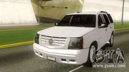 Cadillac Escalade Stock for GTA San Andreas