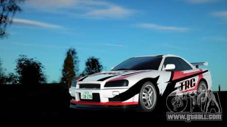 Nissan Skyline E34 for GTA San Andreas