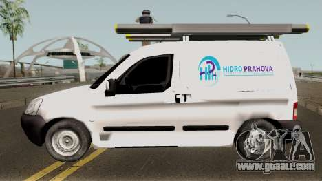 Citroen Berlingo HidroPrahova Edition for GTA San Andreas left view