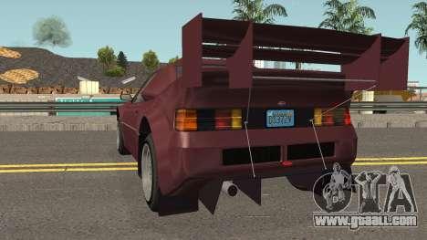 Vapid GB200 GTA V IVF for GTA San Andreas