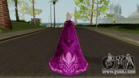 Elsa (Red Dress Mod) From Frozen Free Fall for GTA San Andreas