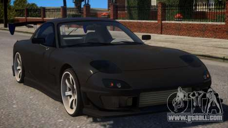 RX-7 Stock for GTA 4