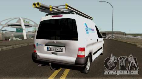 Citroen Berlingo HidroPrahova Edition for GTA San Andreas right view