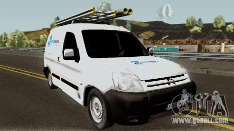 Citroen Berlingo HidroPrahova Edition for GTA San Andreas inner view