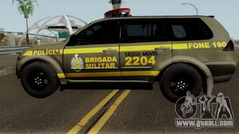 Mitsubishi Pajero Brazilian Police for GTA San Andreas