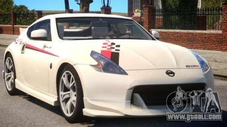 Nissan 370Z S-Tune V1.2 for GTA 4