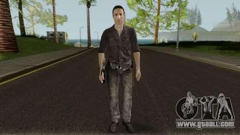 The Walking Dead Rick Grimes Movie Mod V1 for GTA San Andreas