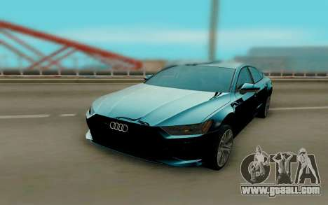Audi A7 2018 for GTA San Andreas