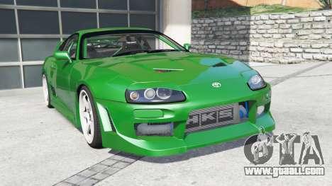 Toyota Supra Turbo (JZA80) [add-on] for GTA 5