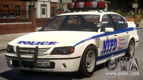 NYPD Police Patrol for GTA 4