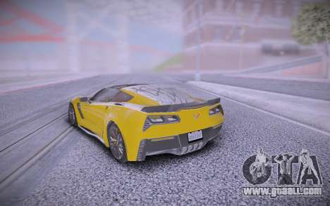 Chevrolet Corvette Z06 for GTA San Andreas