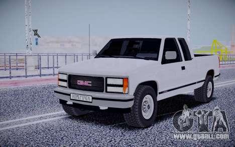GMS Sierra for GTA San Andreas