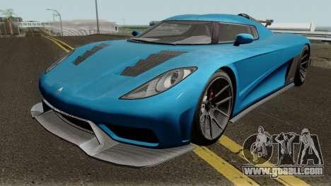 Overflod Entity XXR GTA V IVF for GTA San Andreas