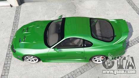 GTA 5 Toyota Supra Turbo (JZA80) [add-on] back view