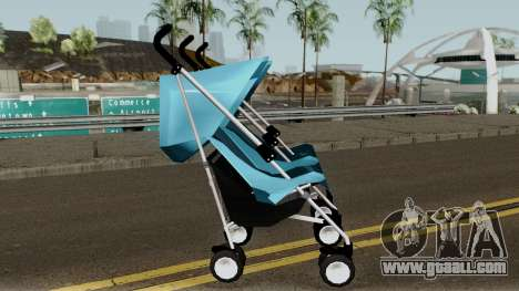 Double Baby Stroller for GTA San Andreas