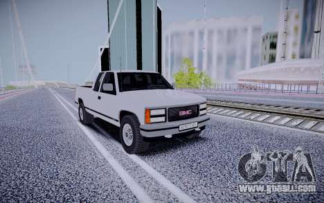 GMS Sierra for GTA San Andreas left view