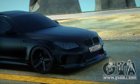 BMW M5 E60 INKS for GTA San Andreas